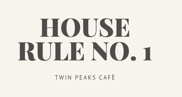 TWIN PEAKS CAFÉ playbook